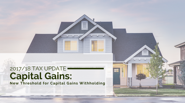 Capital Gains Withholding