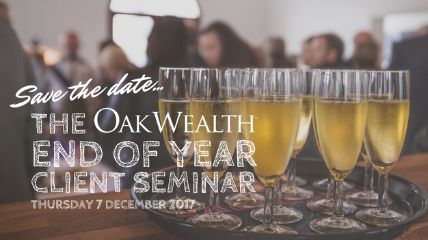 Save the Date: OakWealth End of Year Client Seminar